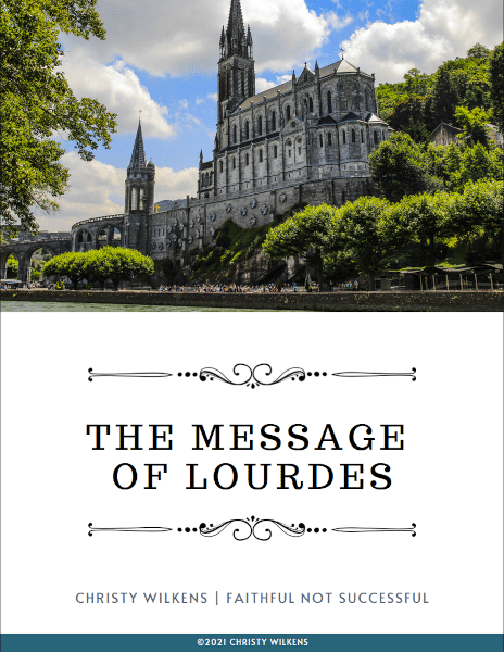 The Message of Lourdes | cover